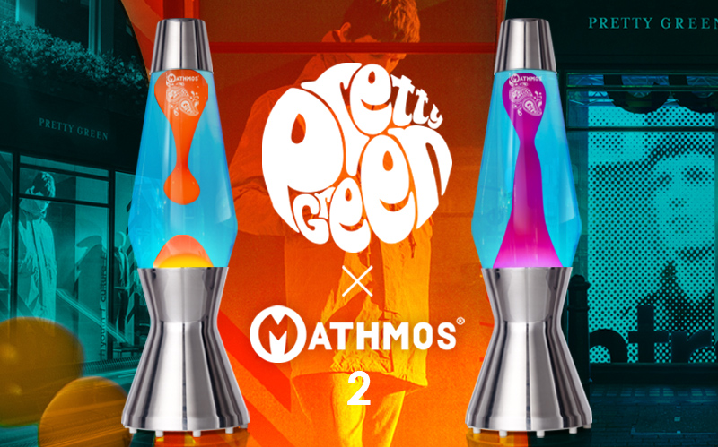 Pretty Green x Mathmos lavalampe 2